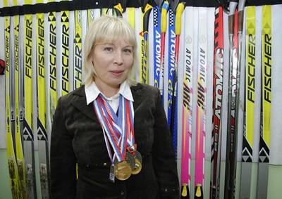 Елена-Калугина-лыжные-гонки